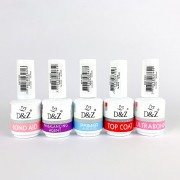Kit D&Z - Ph Ultrabond, PH Balancing, Top Coat, Bond Aid e Primer - 15ml