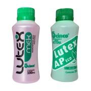 Kit removedor de esmalte Lutex 5Cinco 100ml - Mek (sem acetona) +  AP eco (com acetona)