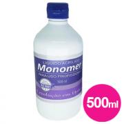 Líquido acrílico monomer profissional piu bella 500ml