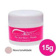 Pó Acrílico MAGIC NAILS para ACRIGEL e PORCELANA 15g Rosa Chá