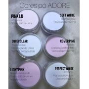 Pó Acrílico Master Sculp - Light Pink Adore - 1 pote de 40g