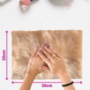 Tapete pelo alto para manicure - fundo de foto - rosê