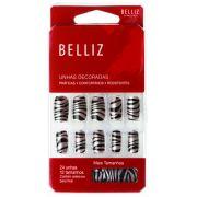 Unhas Belliz Zebra - 1262 #PB1