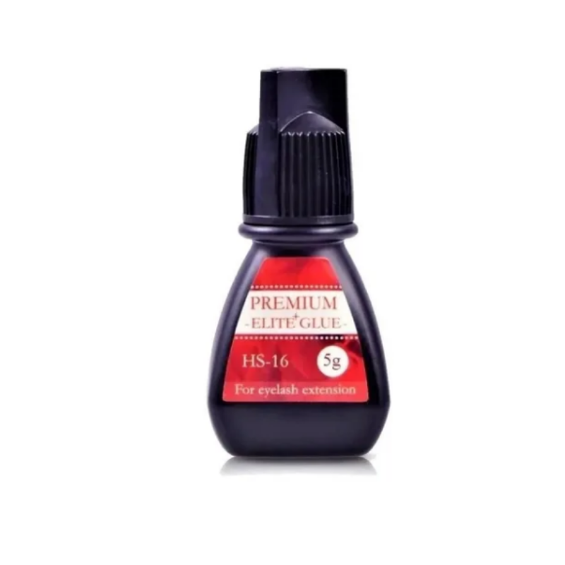 Cola Elite Alongamento Extensão Black Glue Premium 5ml HS-16