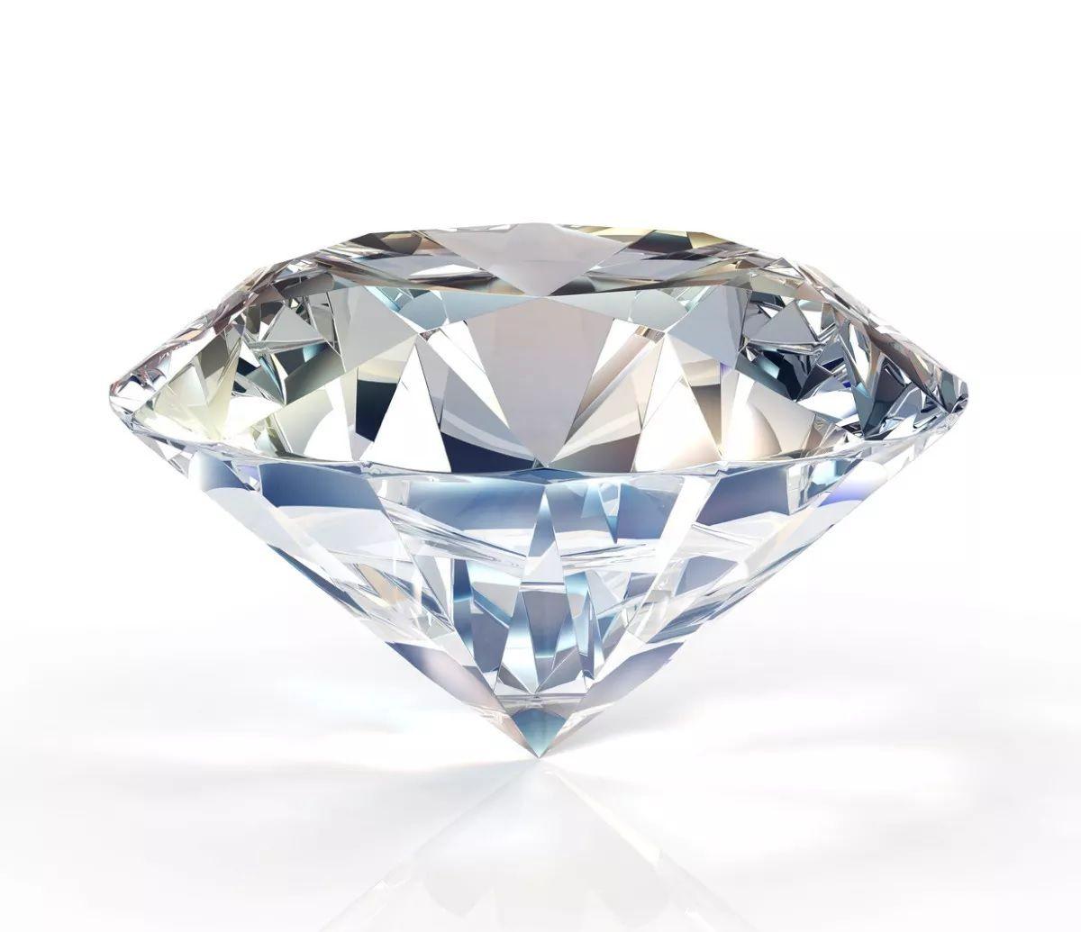 Diamante médio para tirar foto de unhas