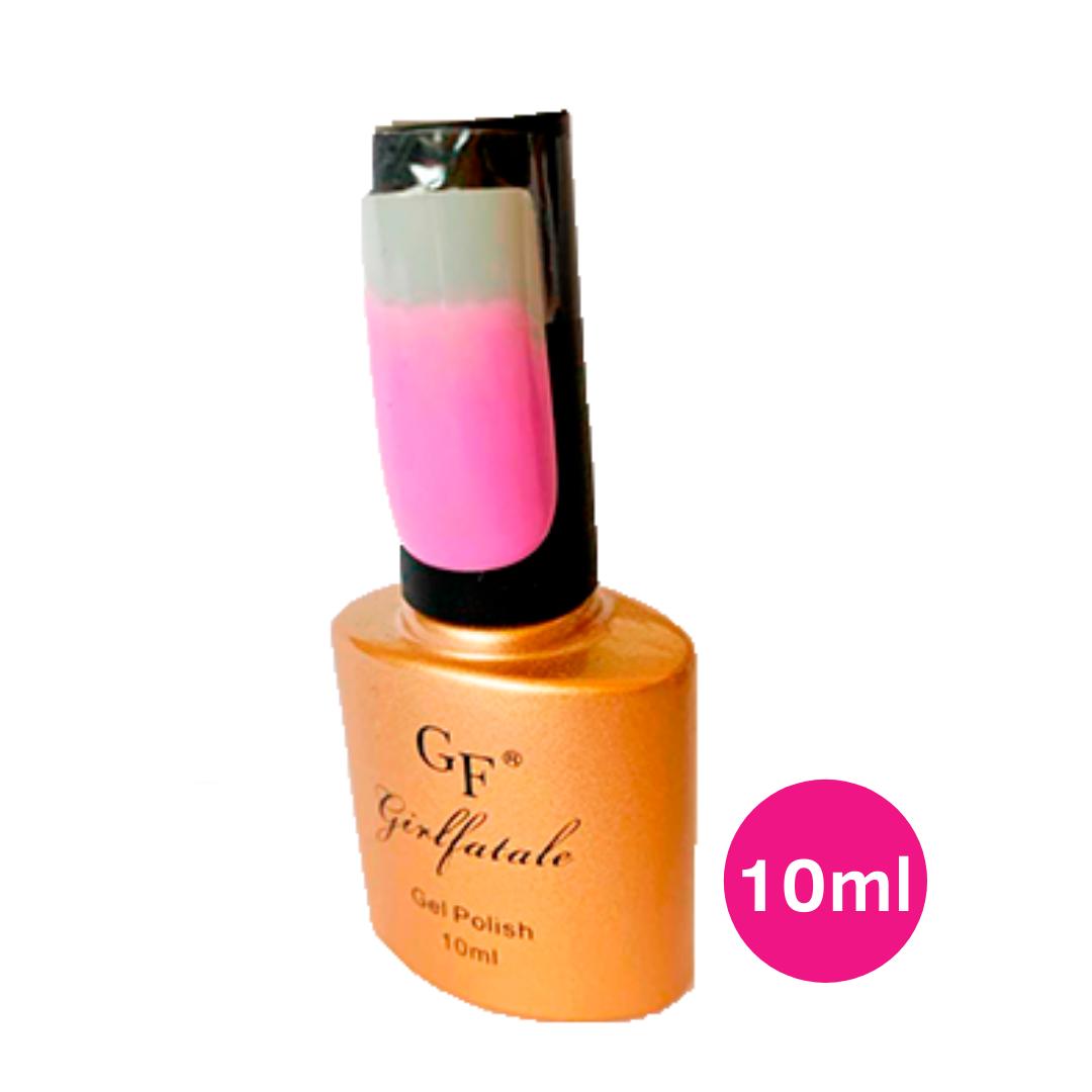 Esmalte em gel lilás uv/led - girl fatale 10ml #gf078