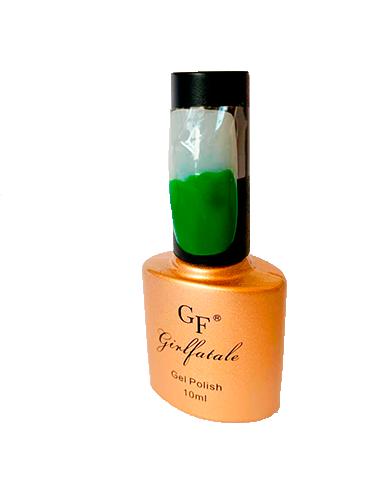 Esmalte em gel verde uv/led - girl fatale 10ml #gf093