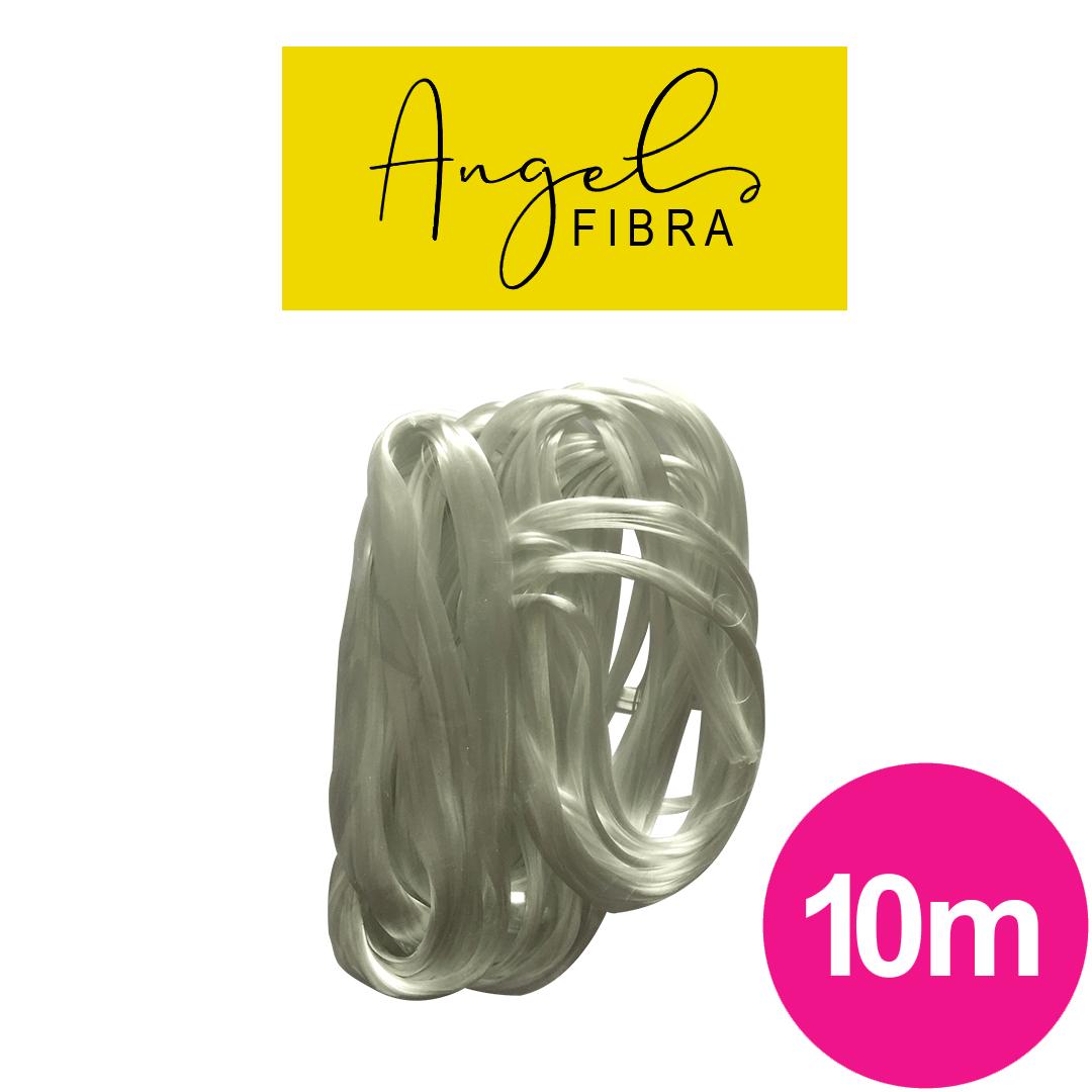 Fibra de vidro angel fibra cordão para alongamento - unhas de fibra com 10 metros