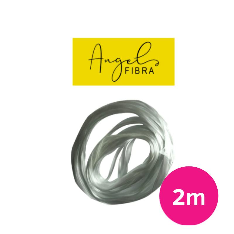 Fibra de vidro angel fibra cordão para alongamento - unhas de fibra com 2 metros