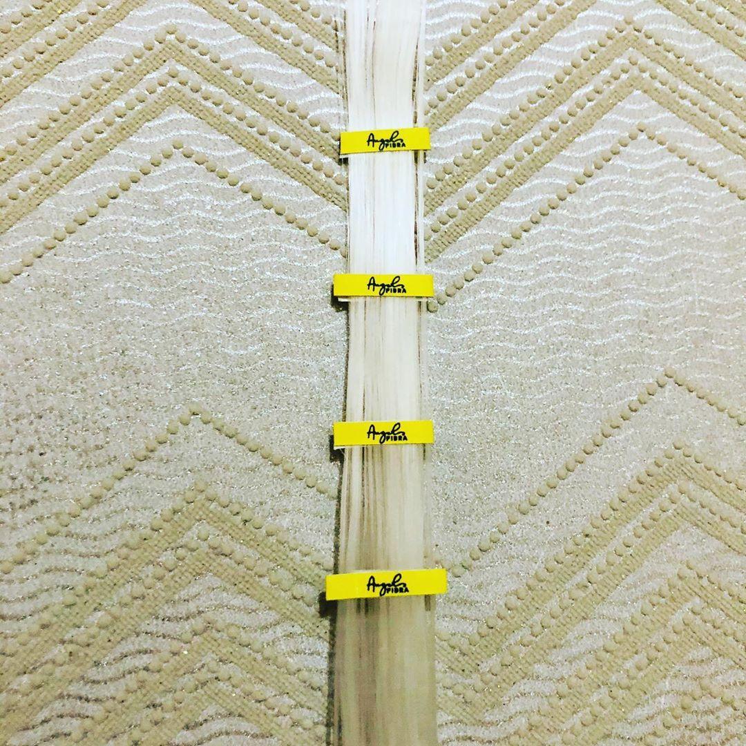 Fibra de vidro angel fibra cordão selada para alongamento - unhas de fibra com 2 metros