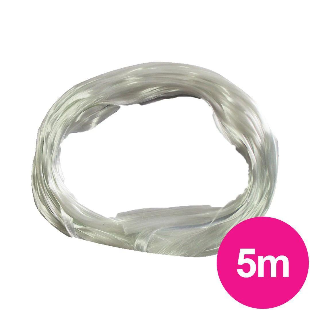 Fibra de vidro D&Z cordão para alongamento - unhas de fibra com 5 metros