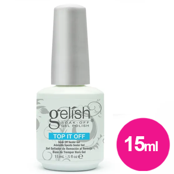 Finalizador de unhas top it off - selante para gel Harmony 15ml cod 2003