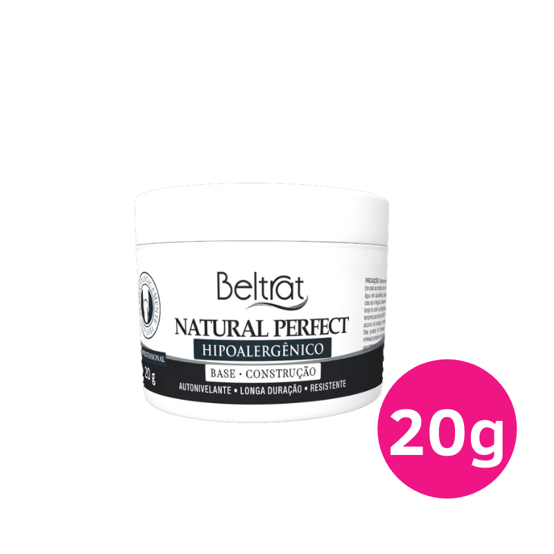 Gel Autonivelante para unhas - Beltrat Natural Perfect 20g