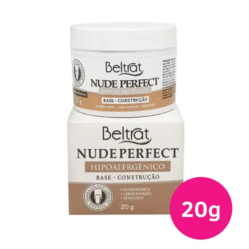 Gel Autonivelante para unhas - Beltrat Nude Perfect 20g