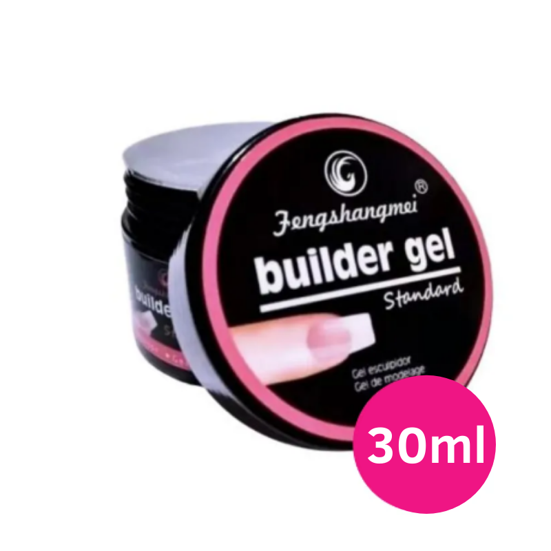 Gel para unhas - Fengshangmei (Pretinho do poder) de 15ml clear 001 gel construtor (alongamento) UV/LED