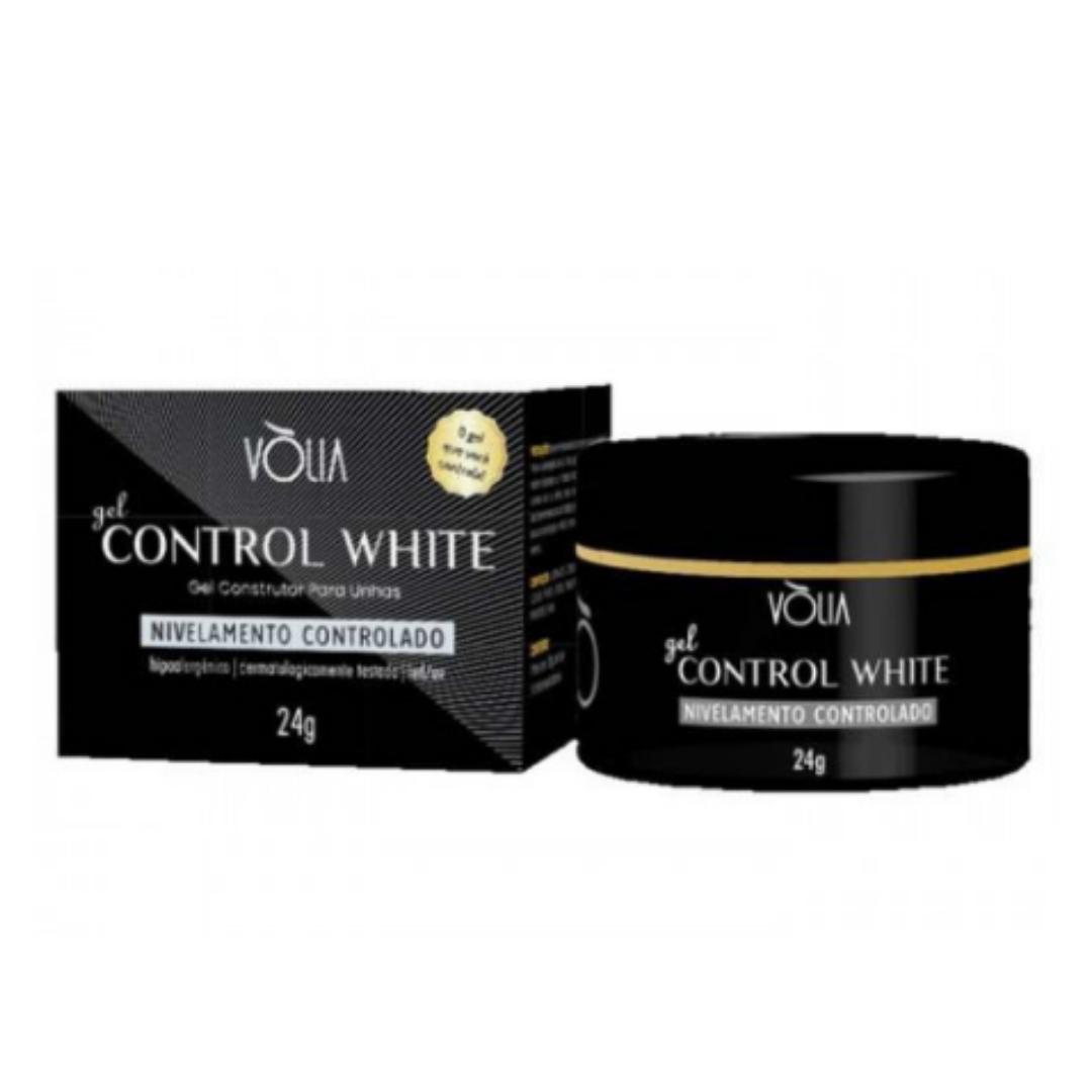 Gel para unhas - Vòlia de 24G Control White Gel Construtor (alongamento) UV/LED