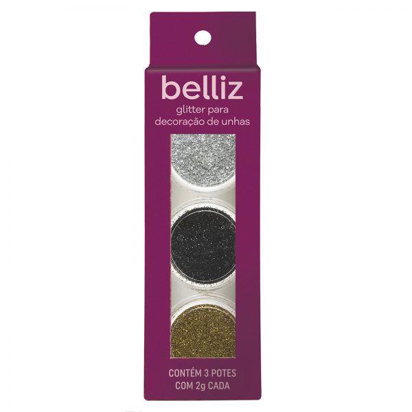 Glitter Para Decoração De Unhas 1828 Belliz