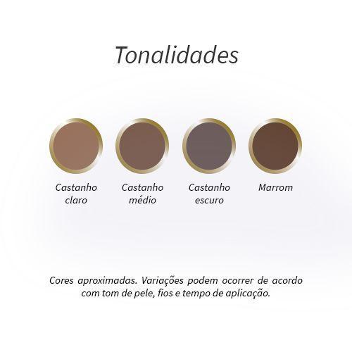 Kit Henna Pro Castanho Escuro Vòlia PA003