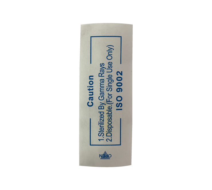 Lâmina tebori FLEX chanfrada descartável para microblanding - 18 pontas haste branca