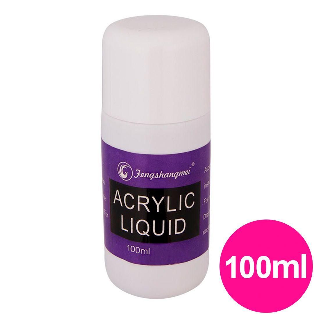Líquido acrílico monomer fengshangmei (pretinho do poder) 100ml
