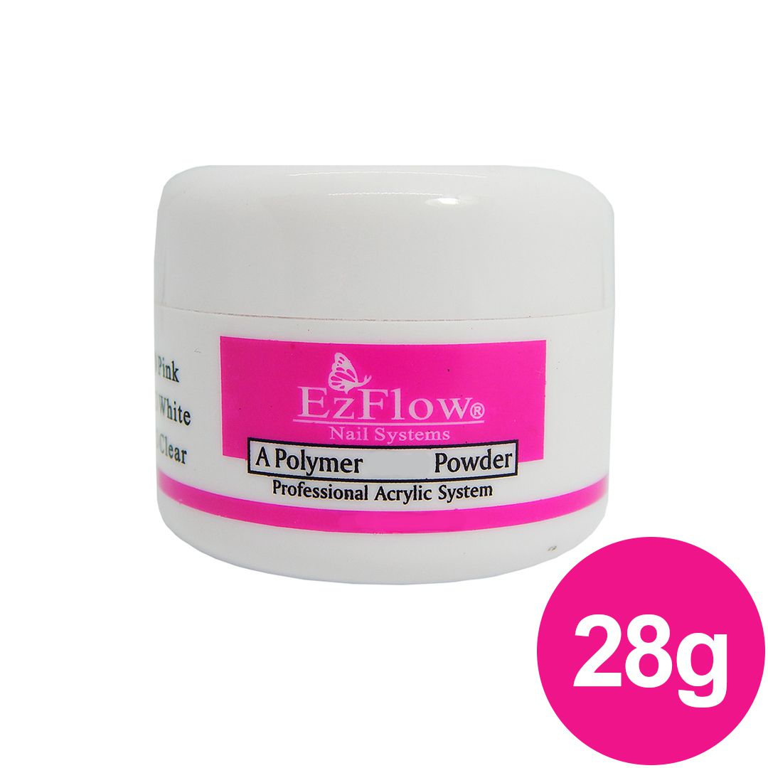 Pó Acrílico EzFlow - Pink (Rosa) 28g