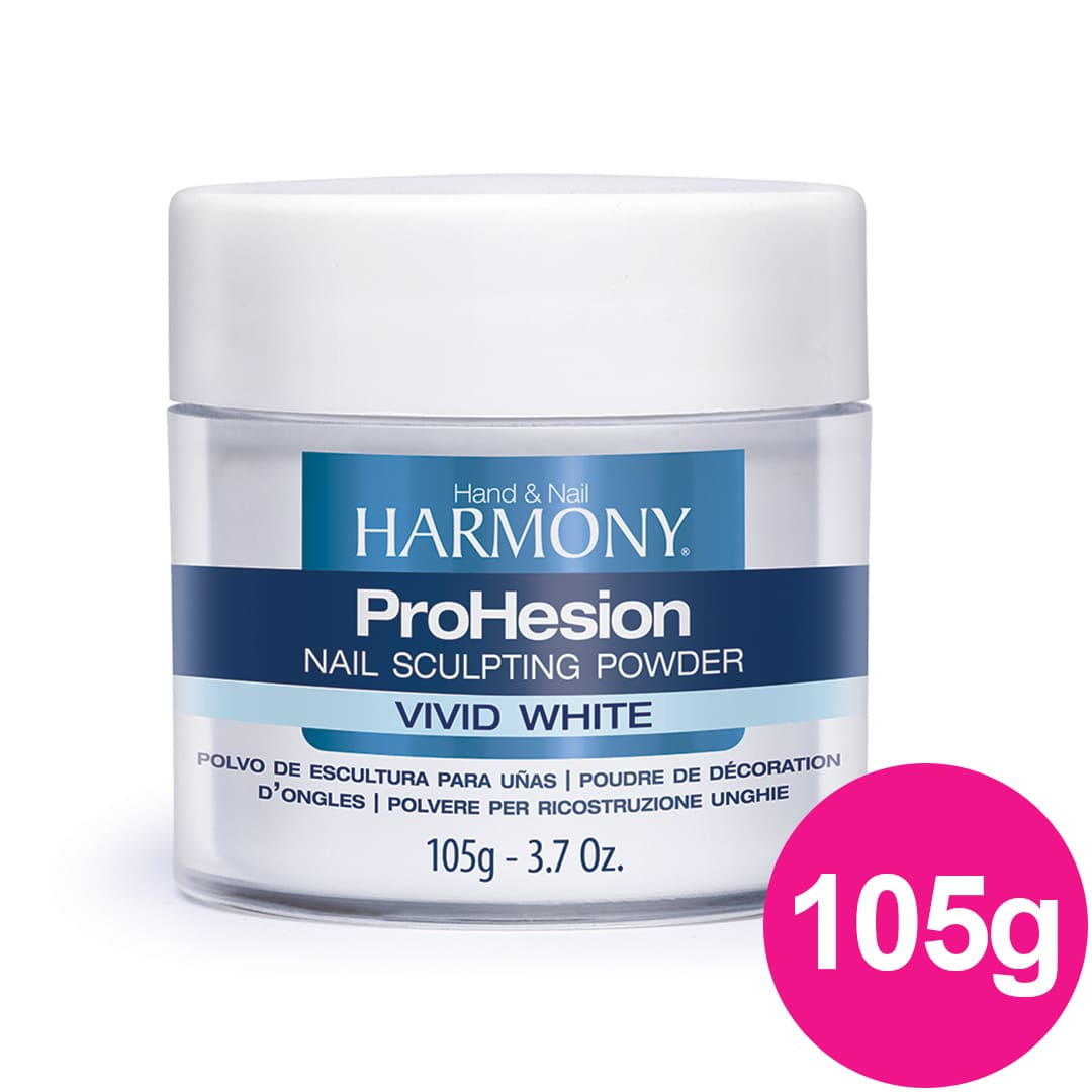 Pó Acrílico Harmony - Prohesion Vivid White 105g cod 4010