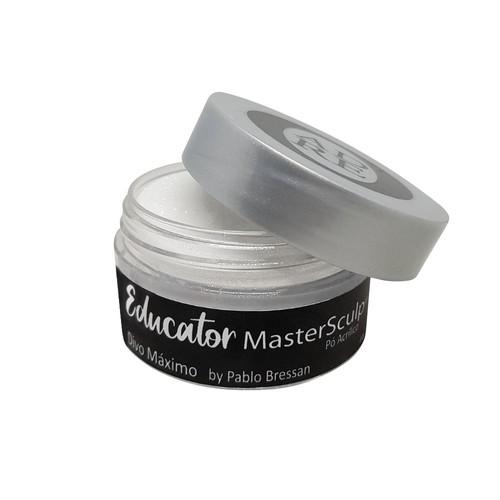 Pó acrílico master sculp educator - divo máximo by pablo bressan - adore - 1 pote de 40g