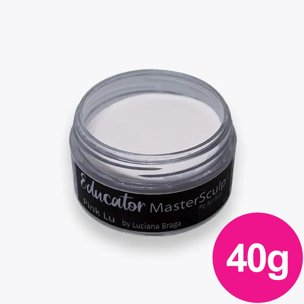 Pó Acrílico Master Sculp - Pink LU Adore - 1 pote de 40g