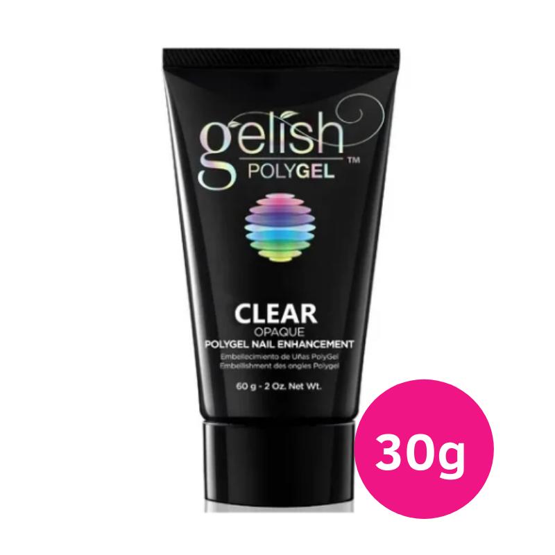 Polygel Gelish CLEAR Led Uv Alongamento Unhas 30g