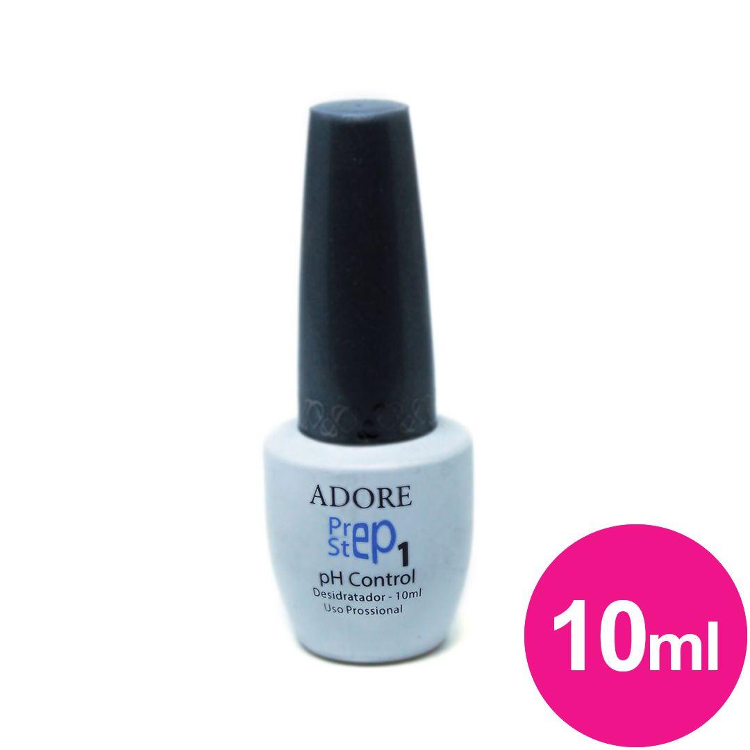 Prep Step 1 PH Control Desidratador Adore - vidro de 10ml