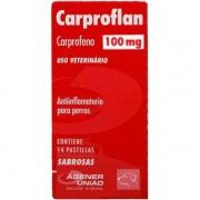 Anti Inflamatório para Cães Carproflan 100mg (14 comprimidos) - Agener União