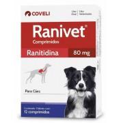 Antiácido para Cães Ranivet 80mg - Coveli