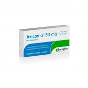 Antibiótico e Anti Inflamatório para Cães e Gatos Azicox-2 50mg (6 comprimidos) - Ourofino
