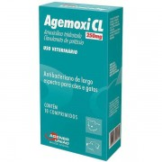 Antibiótico para Câes e Gatos Agemoxi 250mg - Agener União