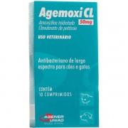 Antibiótico para Câes e Gatos Agemoxi 50mg - Agener União