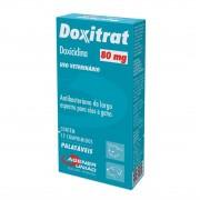 Antibiótico para Cães e Gatos Doxitrat 80mg (12 comprimidos) - Agener União