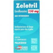 Antibiótico Zelotril 150mg (12 comprimidos) - Agener União