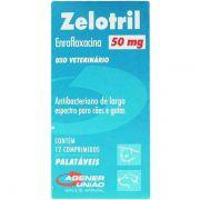 Antibiótico Zelotril 50mg (12 comprimidos) - Agener União