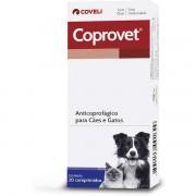 Anticoprofágico para Cães e Gatos Coprovet (20 comprimidos) Coveli