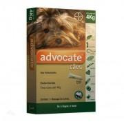 Antipulgas Advocate para Cães até 4kg (0,4ml) - Bayer