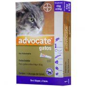 Antipulgas Advocate para Gatos de 4 a 8kg (0,8ml) - Bayer