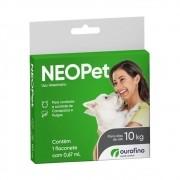Antipulgas e Carrapatos Neopet 0,67ml Cães até 10Kg - Ourofino