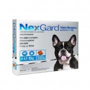 Antipulgas e Carrapatos Nexgard 28,3mg para Cães de 4,1 a 10kg (3 tabletes) - Boehringer Ingelheim
