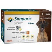 Antipulgas e Carrapatos para Cães Simparic de 40,1 a 60kg - Zoetis