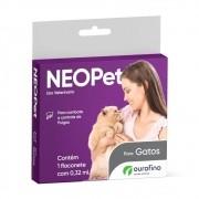 Antipulgas Neopet Gatos 0,32ml - Ourofino
