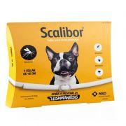 Coleira Antiparasitária para Cães de Pequeno e Médio Porte Scalibor 19g - MSD Saúde Animal