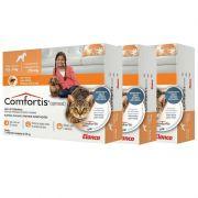Combo 3 unidades Antipulgas Comfortis 270mg para Cães de 4,5 a 9kg e Gatos de 2,8 a 5,4kg