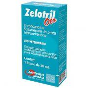 Emulsão Otológica Antibiótica Zelotril Oto 30ml - Agener União