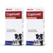 Kit 2 Unidades Anticoprofágico para Cães e Gatos Coprovet (20 comprimidos) Coveli