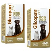Kit 2 Unidades Glicopan Pet 125ml - Vetnil